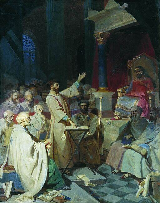 The Council of Nicaea—establishment of the Nicene Creed