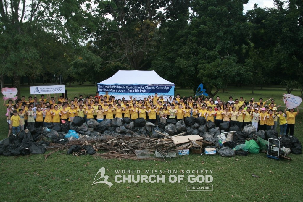Pasir Ris Cleanup Campaign 2012