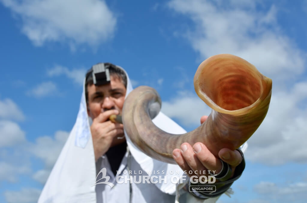 The Feast of Trumpets is the day when the Israelites held a sacred assembly by blowing their trumpets in order to prepare for the Day of Atonement.